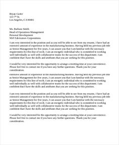 Example Recommendation Letter Cool How To Write A Thank You Letter After An The Best Letter Sle  Thank .