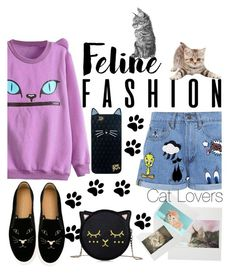 """""""Amo Gatos"""" by mikaell-fw ❤ liked on Polyvore featuring Paul & Joe Sister and Charlotte Olympia"""