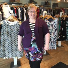 Guys! I just put out this new @tangenteclothing dress this morning and 2 are gone already! A very gracious customer let me snap this pic so you understand why this piece is a must have! She paired it with @jnfukushima to finish off this awesome look. #northdal #613style #ottfashion #myottawa #lovelocal #lovethislook #modernwoman #madeinottawa #classicwoman #fashionforall