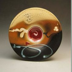 Pottery Platters at Brace Point Pottery by Loren Lukens - Seattle, WA