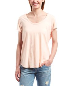 Look what I found on #zulily! Peach Angie Top by Big Star #zulilyfinds