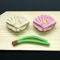 Japanese dry sweets  京菓匠 七條甘春堂   御婚礼菓子 (by Shichijyokansyundo,since 1865 Kyoto)