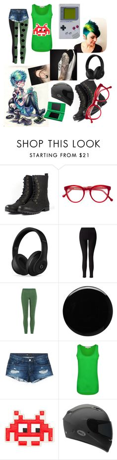 """Anime girl boredom"" by pansexual-girl-loves-all-booty ❤ liked on Polyvore featuring INDIE HAIR, Cutler and Gross, Beats by Dr. Dre, Miss Selfridge, Missoni, Deborah Lippmann, 3x1, French Connection, Anya Hindmarch and Nintendo"