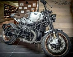 #RnineT personalizada pela Stucki2Rad - VTR Customs.