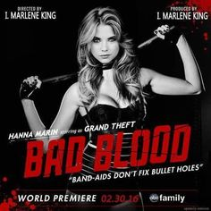 Pretty Little Liars Bad Blood Taylor Swift Hanna perfect name for the shoplifter and cop car robber