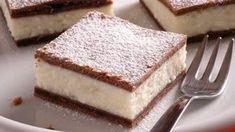 Lahodný dezert: Tvarohový koláč s pudingom Sweet Desserts, Macarons, Nutella, Tiramisu, Cheesecake, Food And Drink, Favorite Recipes, Sweets, Cookies