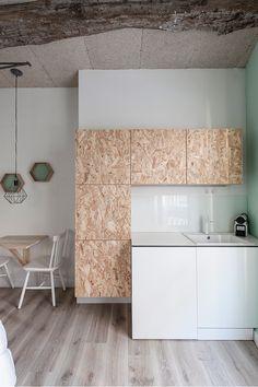 Should I Finance Furniture Diy Kitchen, Kitchen Interior, Osb Plywood, Raw Furniture, Osb Board, Bedroom Minimalist, Plywood Projects, Plywood Interior, Interior Architecture