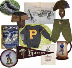 210fa38d237 Vintage finds for football season - The Magazine Antiques Football Uniforms
