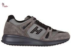 Hogan chaussures baskets sneakers homme en daim interactive n20 gris EU 41 HXM2460U871E6F876U - Chaussures hogan (*Partner-Link)