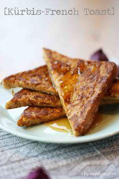 French Toast mit Kürbis   süßer, knuspriger Herbstgruß - ganz einfach aus Toast gemacht!