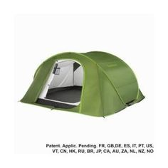 DELUXE WATERPROOF 4 MAN POP UP TENT BY QUECHUA.FESTIVALS/CAMPING.Doubled skinned: Amazon.co.uk: Sports & Outdoors
