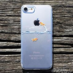 MADE IN JAPAN Soft Clear Case - Goldfish for iPhone 7 - Dhouse USA - 1