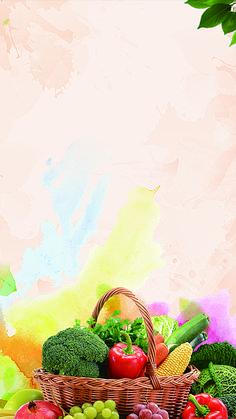 food background Frutas frescas y verduras - food Food Background Wallpapers, Food Backgrounds, Food Wallpaper, Indian Wedding Food, Food Menu Design, Food Drawing, Fresh Fruits And Vegetables, Background Patterns, Food Art