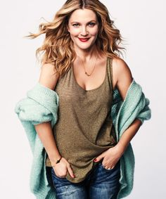 Shop the December 2013 Cover http://www.womenshealthmag.com/style/drew-barrymore-cover