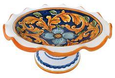 Hand-Painted Italian Compote on OneKingsLane.com