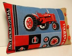 Farmall International Harvester Farm Tractor Retro Style