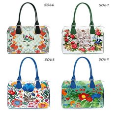 Catalogue: Ladies Designer Printed Handbags, Fabric Barrel Bags for Women, Fashionable Handbags for Ladies, Unique Bright Handbags, Part 4 by MyBrightBag on Etsy