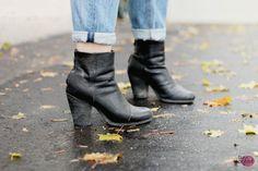 black leather #boots :: Rag & Bone