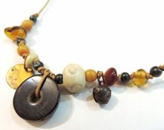 Crepundia amulet necklace inspired by ancient by AnaMariaGruiaART