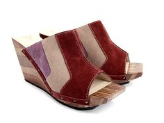 Super cute with a retro feel and comfort!  Love the color block scheme-kinda reminds me of bowling shoes