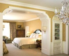9 modern and beautiful hall arch designs for home arch Crown molding india