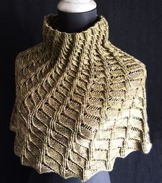 Precarious Stairs pattern by Jennifer Kirchenbauer | malabrigo Arroyo in Chircas