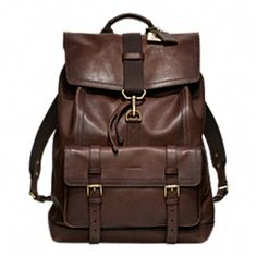 698 Bleecker Leather Backpack COACH mens. Perfect. Leather Backpacks,  Women s Backpacks, Coach a63662b2fa