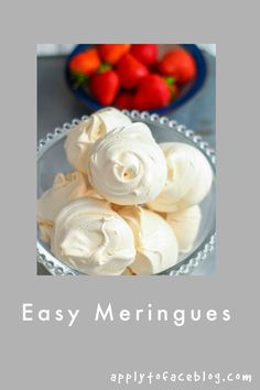 This meringue recipe has become one of my most favourite and most followed recipes ever.I am very particular here. I want deliciously chewy meringues in the middle with a crisp crust on the outside. Nothing else is good enough.....nothing. #applytofaceblog #meringues #homemademeringues #easydesserts #makeaheaddesserts #puddingrecipes Make Ahead Desserts, Easy Desserts, Delicious Desserts, Raspberry Roulade, Best Picnic Food, Chocolate Pavlova, Food Time, Easy Entertaining, Cookers