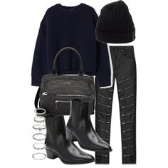 Untitled #5086 by natalie-123s on Polyvore featuring polyvore, fashion, style, Acne Studios, Yves Saint Laurent, Givenchy, Forever 21, Prada Sport and clothing