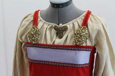 Viking apron dress by NornasMystery on Etsy