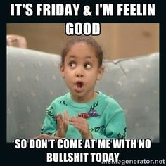Friday is finally here and everyone is getting ready for a happy weekend. Check out the top 10 funny happy Friday memes below. Friday Quotes Humor, Funny Friday Memes, Monday Humor, Memes Humor, Funny Quotes, Funny Memes, Madea Meme, Tgif Quotes, Meme Gifs