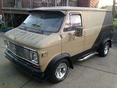 Custom Chevy van..vk