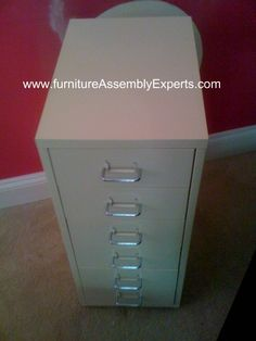 ikea File cabinet assembled in Washington DC by Furniture Assembly Experts company