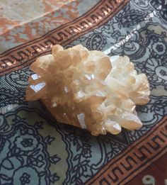 Champagne Aura Spirit Quartz Cluster! Learn more here! https://www.etsy.com/listing/464992928/champagne-aura-quartz-cluster