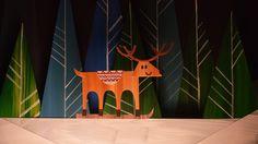 Крайнов - Свитер с оленями (Paper Cut Out Animation)