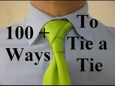 How to Tie a Tie Left Ostrich Knot - YouTube