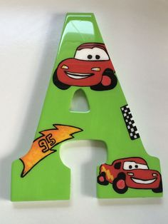 Light McQueen's theme by ColorArtLetters on Etsy