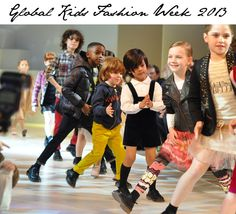 What the kids are wearing these days at Global Kids Fashion Week 2013