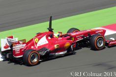 2013 Ferrari F138, Felipe Massa, Young Driver Test, Silverstone