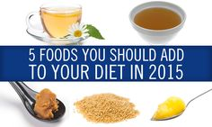 5 Foods You Should Add To Your #Diet in 2015