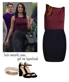 veronica lodge night out outfit riverdale by shadyannon on polyvore featuring polyvore fashion style boohoo