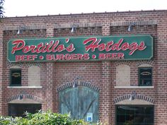 Swing by Portillo's for some of the best hot dogs and cheese fries!