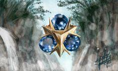 Nintendo The Legend of Zelda Ocarina of Time Zora's Sapphire by KlausBoss