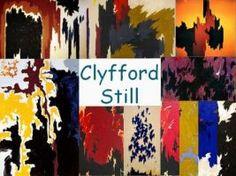 Leuke en informatieve powerpoint over Clyfford Still voor 5, deze en nog vele andere kun je downloaden op de website van Juf Milou.
