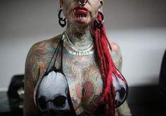 ... the annual Venezuela Tattoo International Expo in Caracas Venezuela
