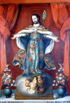 Saint Joseph of Mercy Unknown artist Tepotzotlán Museum, Mx.