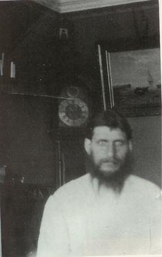Grigory Rasputin at his Tobolsk house.A♥W