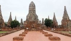 Wat Chai Wattanaram prang. Thailand, Ayutthaya- Travelhype