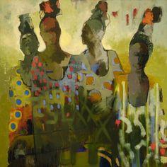 Those Who Wait, Kathy Jones, 40 x 40 in.