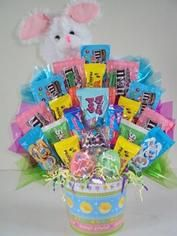 Easter candy bouquet